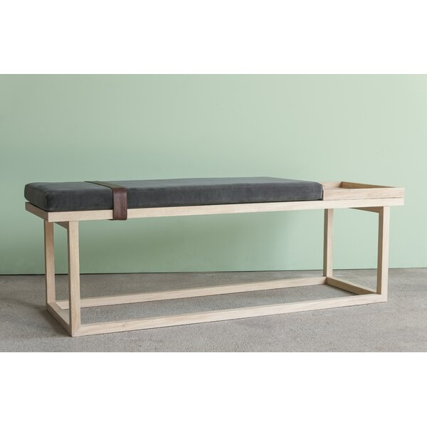 Tray Upholstered Bench by Ebb and Flow Furniture