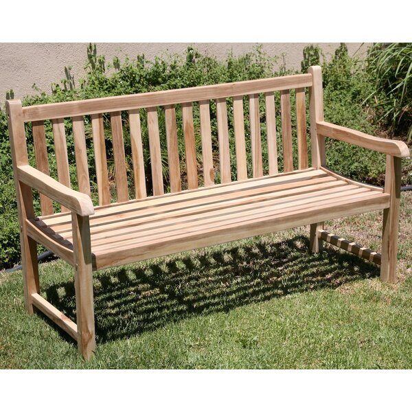Waterford Teak Park Bench by Trijaya Living