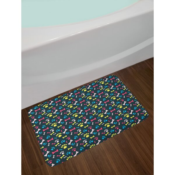 Dog Lover Bath Rug by East Urban Home