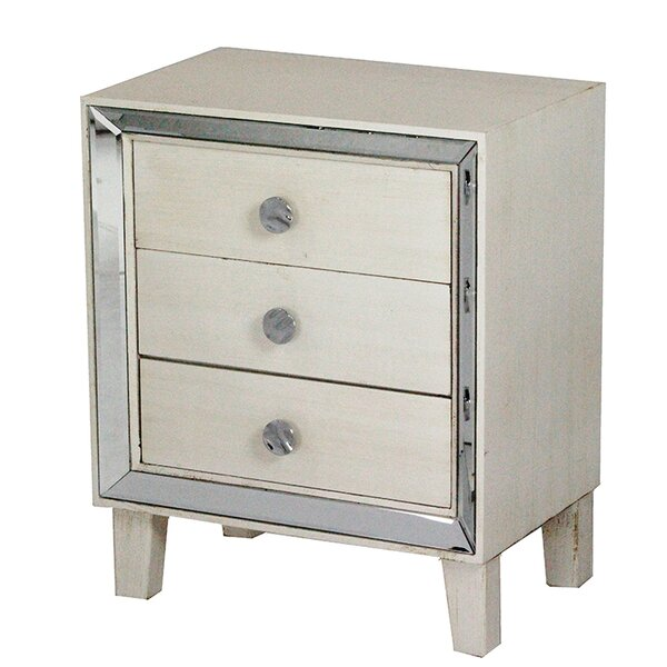 Marlys 3 Drawer Accent Chest
