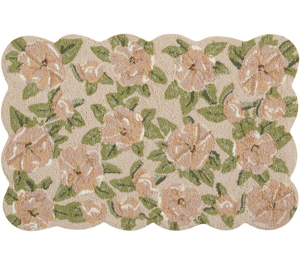 Cherie Beige/Green Area Rug by August Grove