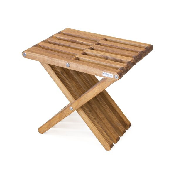 Darcus Solid Wood Side Table by Union Rustic