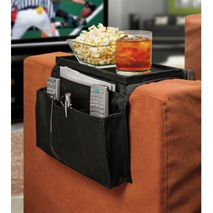 6 Pocket Sofa Couch Arm Rest Organizer with TableTop