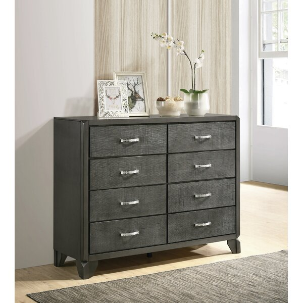 Nicholson 8 Drawer Double Dresser by Brayden Studio