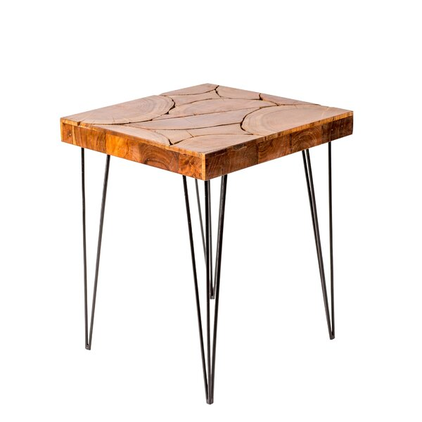 Gravely End Table by Union Rustic