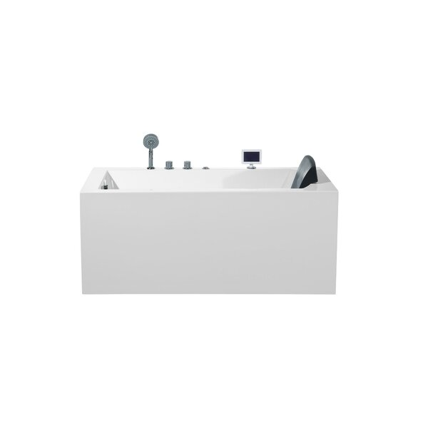 Platinum 59 x 29.3 Alcove/Tile in Whirlpool by Ariel Bath