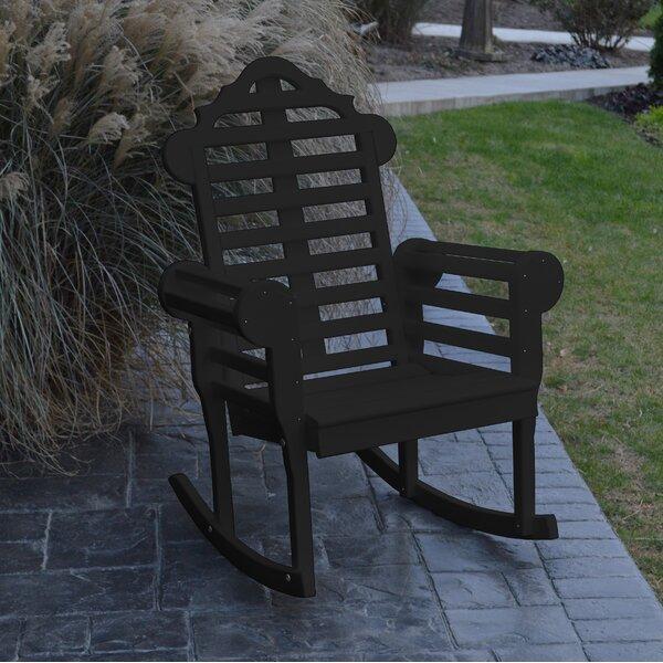 Deleon Rocking Chair by Rosalind Wheeler