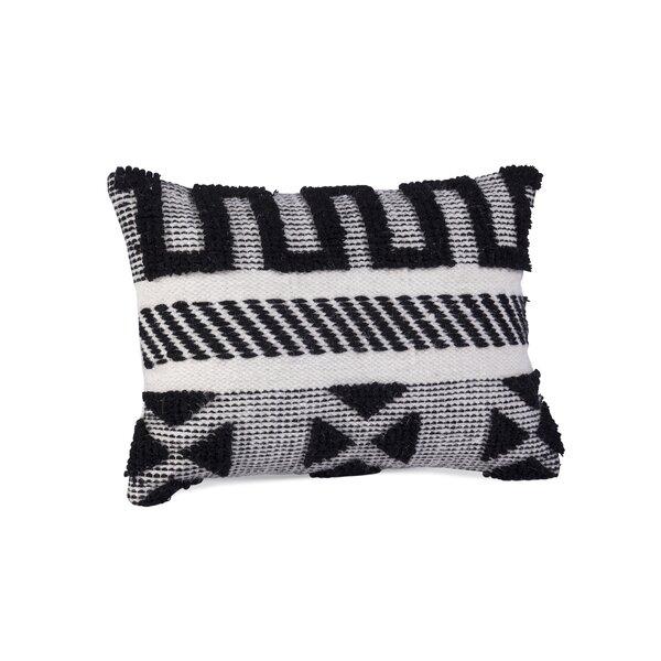 Berrios Wool Lumbar Pillow by Langley Street