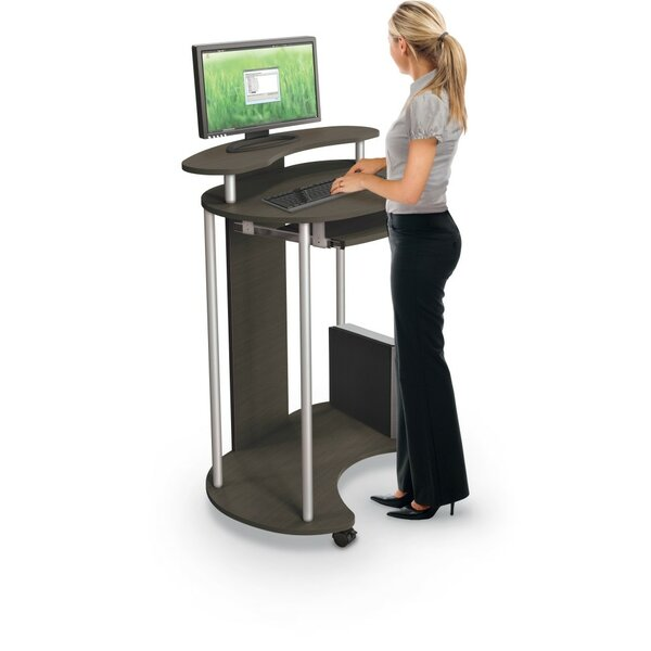 Up-Rite Standing Mobile AV Cart by Balt