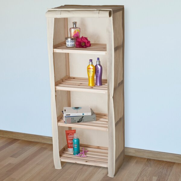 17.75  W x 44.25 H Bathroom Shelf by Lavish Home