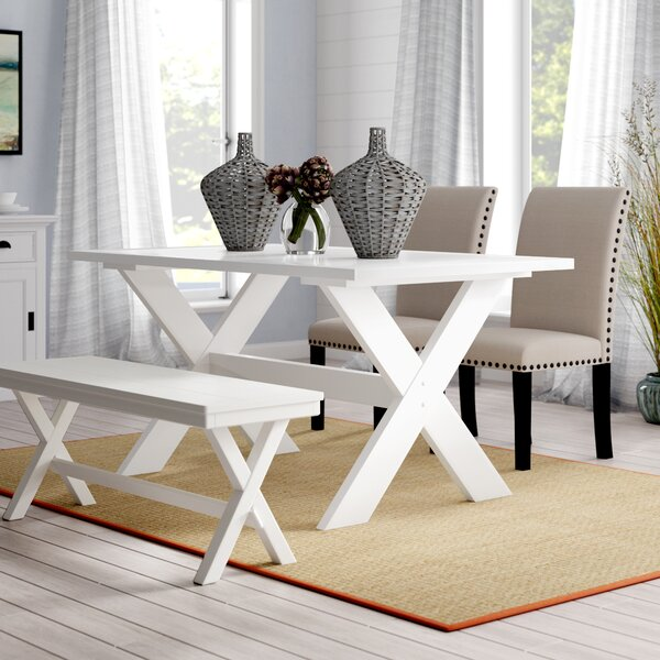 Rossetti Dining Table by Beachcrest Home