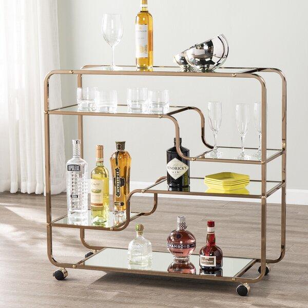 Thayer Bar Cart by Everly Quinn