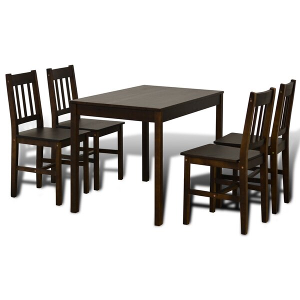 5 Piece Dining Set by Winston Porter