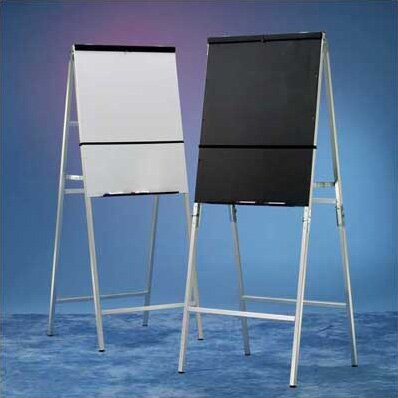 DR Series Folding Flipchart Easel by Draper