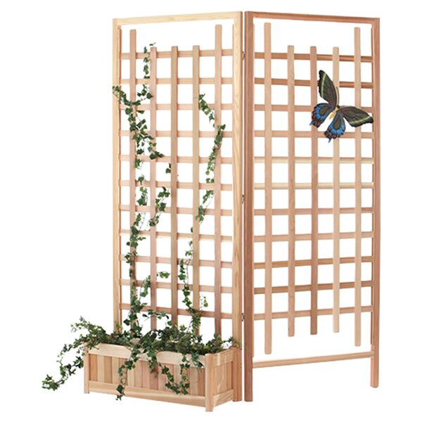 3 Piece Wood Trellis Set by All Things Cedar