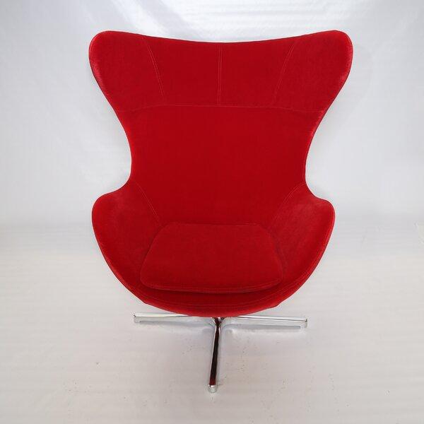 Muna Swivel Lounge Chair by La Viola Décor