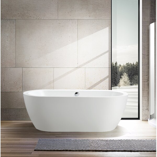 67.7 x 30.7 Freestanding Soaking Bathtub by Vanity Art