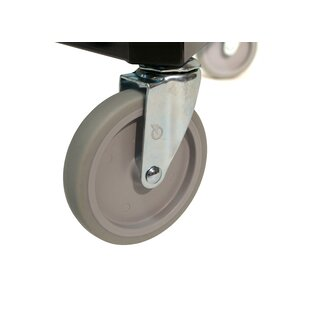 Great Price 5 Garment Rack Caster By Quality Fabricators