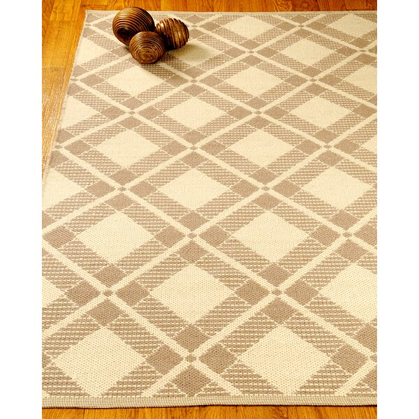 Whimsy Dhurrie Beige/Tan Area Rug by Natural Area Rugs