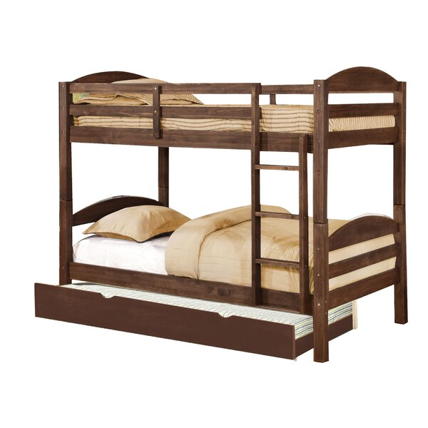 Daryl Twin over Twin Bunk Bed with Trundle by Harriet Bee