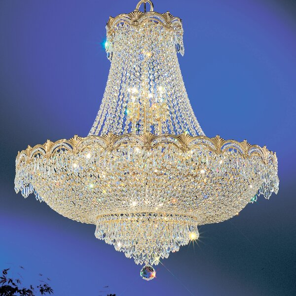 Exum 11 - Light Unique / Statement Empire Chandelier by Astoria Grand Astoria Grand