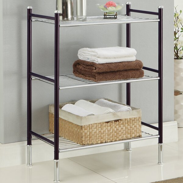 Duplex 24 W x 33.25 H Bathroom Shelf by Organize It All