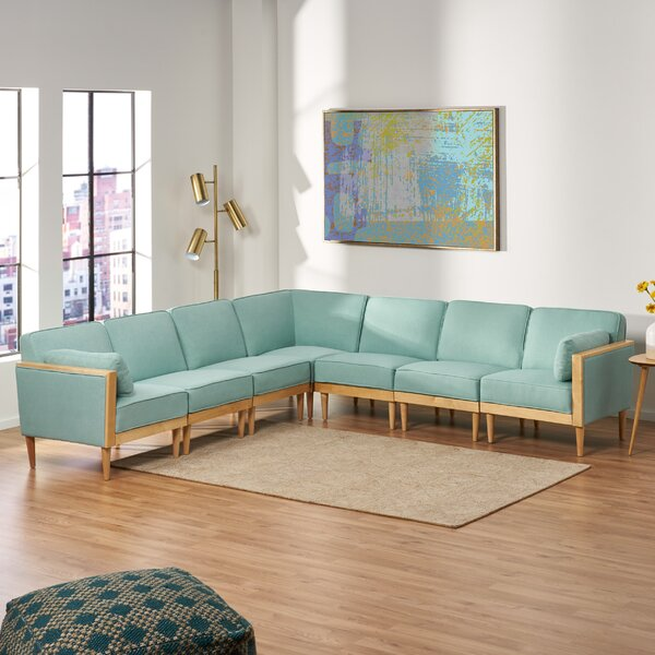 Marconi Mid-Century Modern Modular Sectional by George Oliver George Oliver