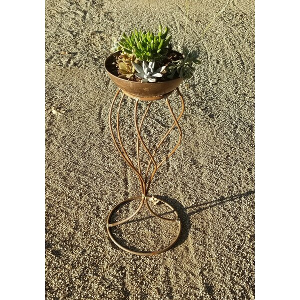 Handmade Swirl Stand Frame and Planter by Starlite Garden and Patio Torche Co.