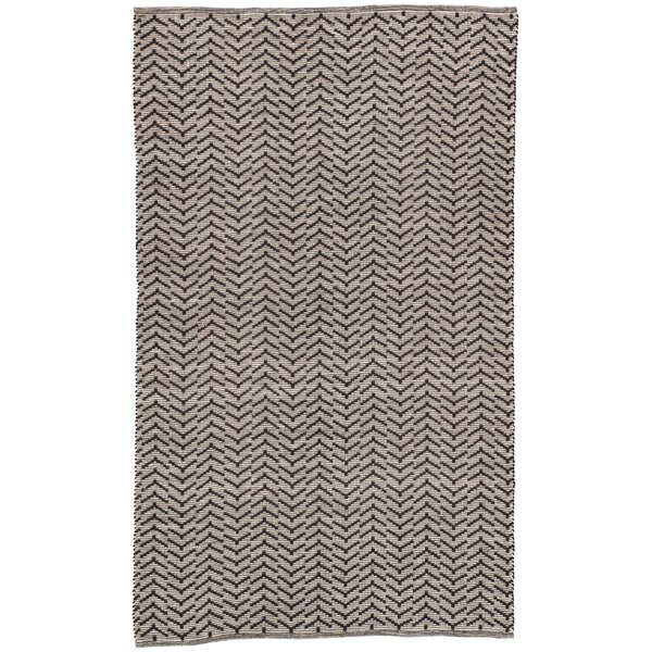 Wray Handwoven Flatweave Black/ Gray Indoor/Outdoor Area Rug by Bungalow Rose