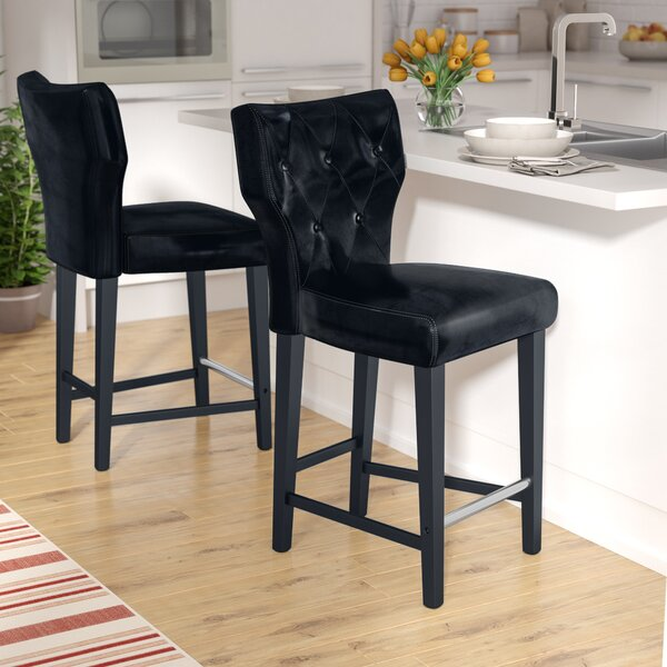 Laughing Sun 25 Bar Stool (Set of 2) by Red Barrel Studio