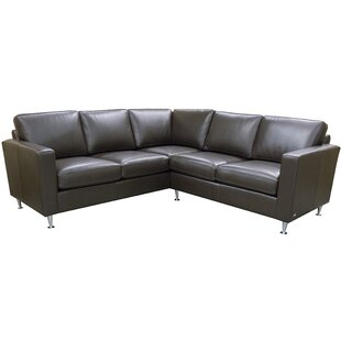 Erika Leather Sectional