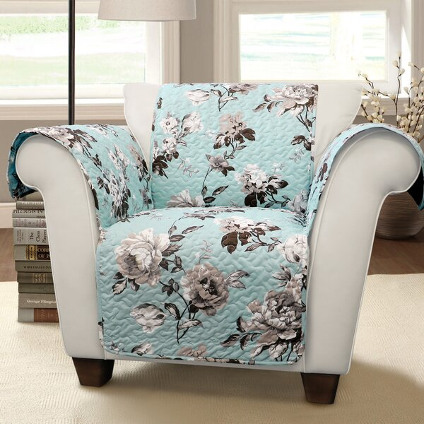 Kyles Floral Armchair Slipcover by Winston Porter
