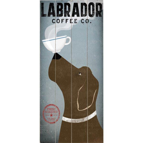 Labrador Coffee Graphic Art Multi-Piece Image on Wood by Artehouse LLC