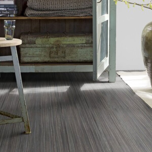Marmoleum Click Cinch Loc 11.81 x 35.43 x 9.9mm Cork Laminate Flooring in Black by Forbo