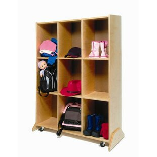 Price comparison Double Sided 9 Compartment Cubby with Locks By Whitney Brothers