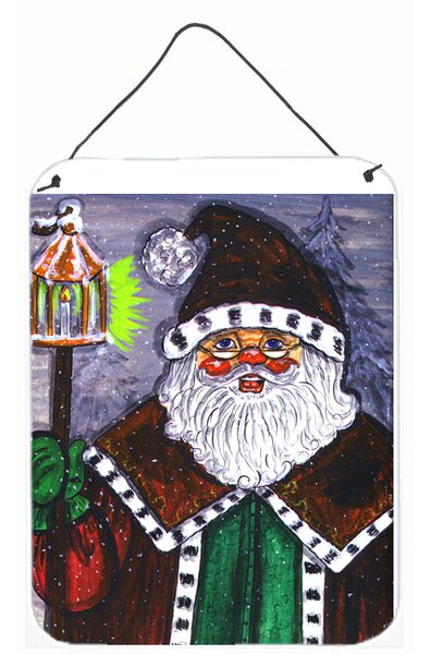 Santa Claus by Carol Normande Painting Print Plaqu