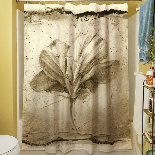 Floral Impression IX Shower Curtain by Manual Woodworkers & Weavers