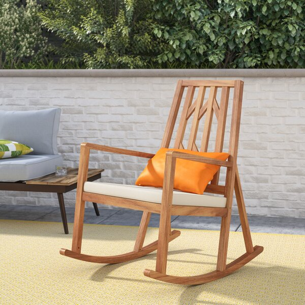Neema Rocking Chair By Brayden Studio by Brayden Studio Today Sale Only