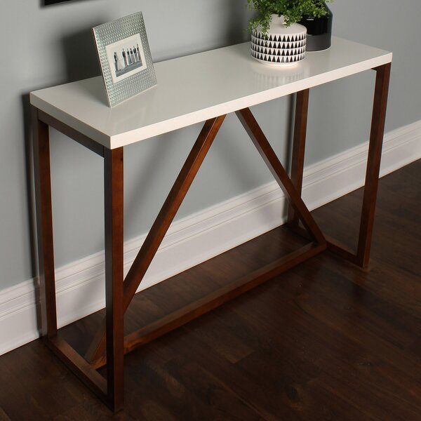 Deals Price Sievers Wood Console Table