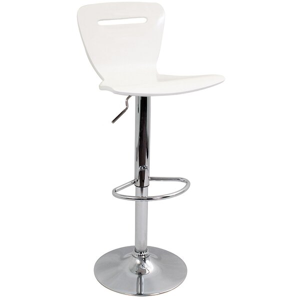 Georgia Adjustable Height Swivel Bar Stool by Zipcode Design