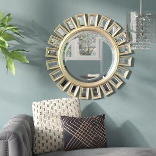 Willa Arlo Interiors Sunburst Beveled Wall Mirror