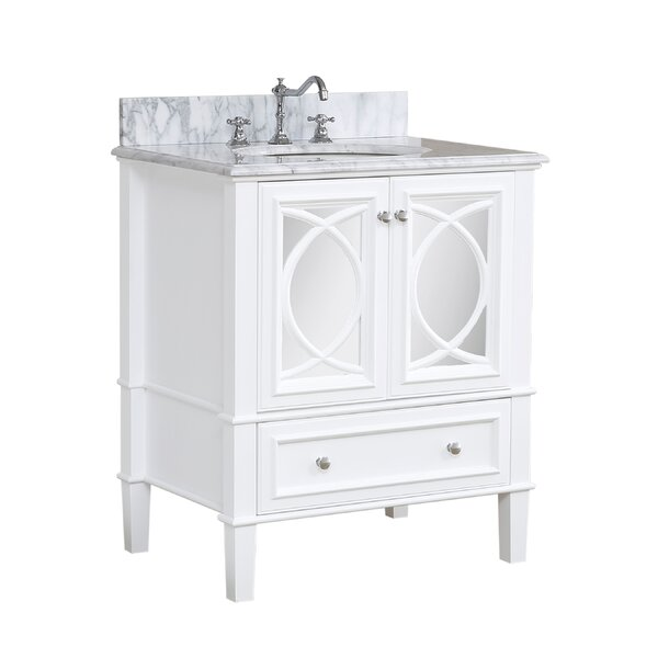 Olivia 30 Single Bathroom Vanity Set by Kitchen Bath Collection