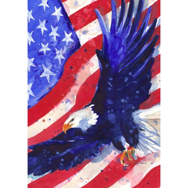 Liberty Eagle 2-Sided Garden flag by Toland Home Garden