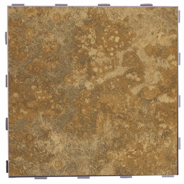 Classic ThinLine 12 x 12 Porcelain Field Tile in Camel by SnapStone