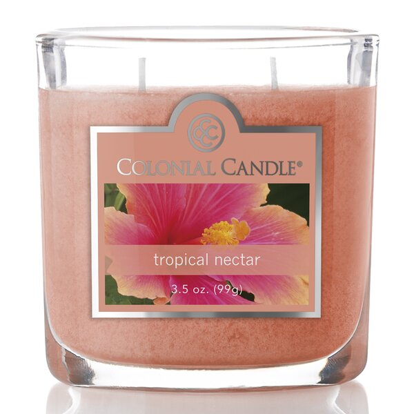 3.5 oz Tropical Nectar Jar Candle by Colonial Candle