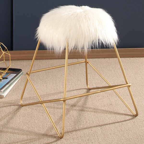 Charlita Vanity Stool by Willa Arlo Interiors