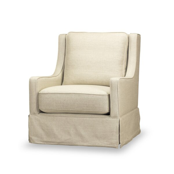 Lykins Swivel Armchair by Rosecliff Heights