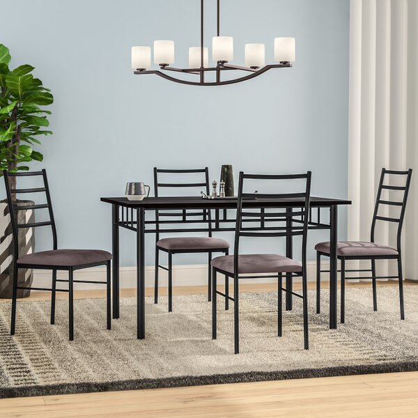 Rose 5 Piece Dining Set by Zipcode Design