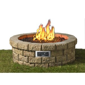 Hudson Stainless Steel Gas Fire Pit