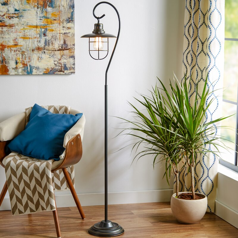 floor and wall product breakwater bay evelynn 58 arched floor lamp reviews wayfair